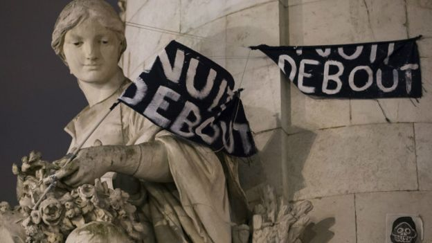 Francia, protestas