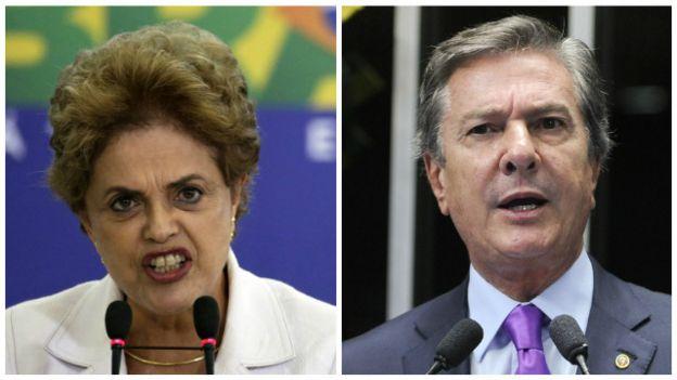 Dilma e Collor | EPA
