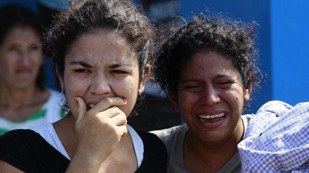 Llanto de madres en Ecuador