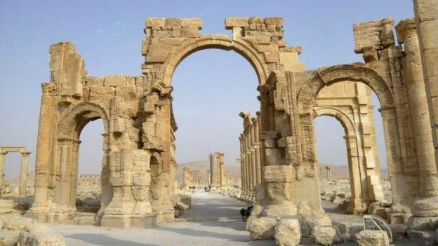 Arco de Triunfo en Palmira