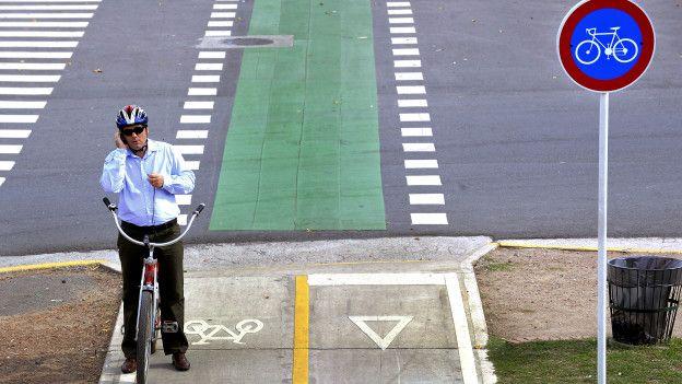 La Ciudad de Buenos Aires cuenta con 140 km de ciclovía.