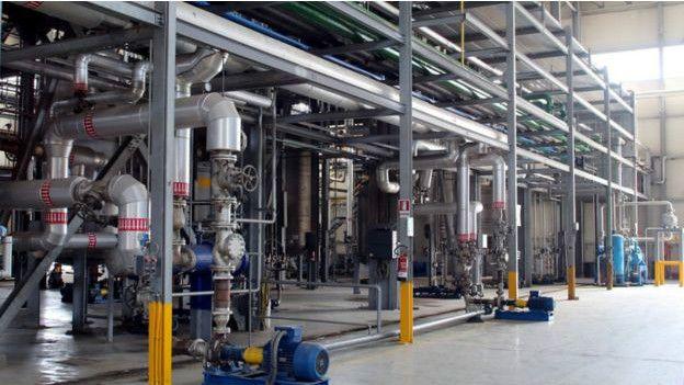 Planta de GF Biochemicals