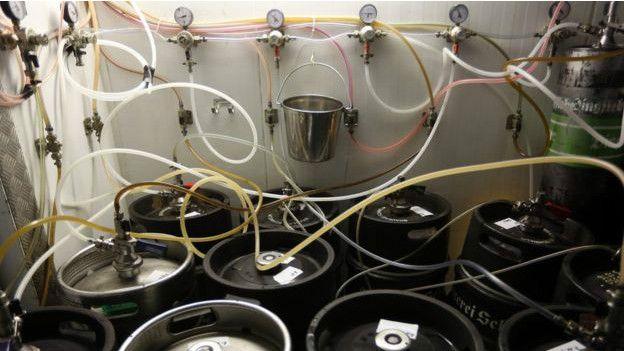 Fábrica casera de cerveza