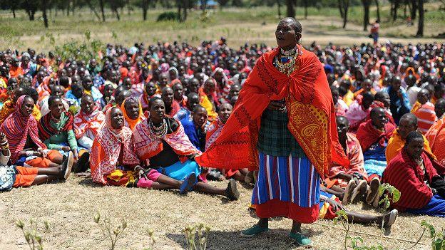 Protesta en Kenia