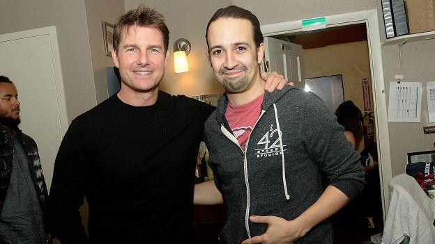 Tom Cruise, Lin Manuel Miranda