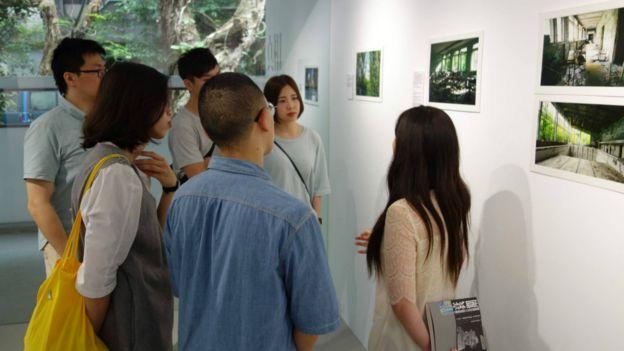 車諾比核災30週年紀實團隊在台灣舉辦「真相剪影」多媒體攝影展。
