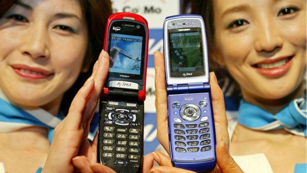Teléfonos de tapa