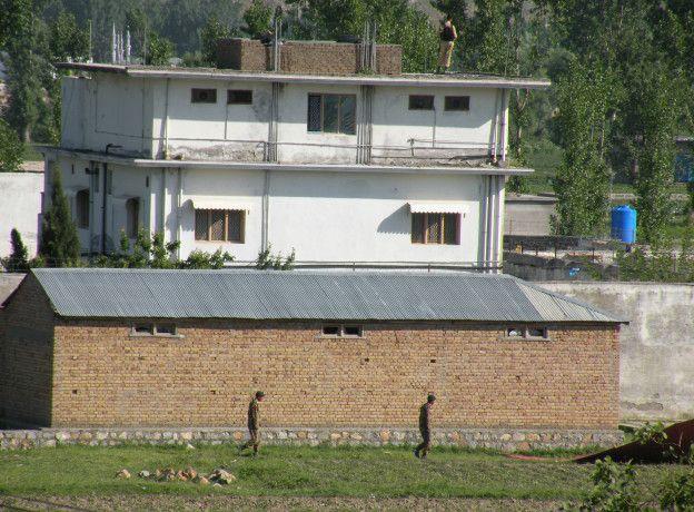 Vivienda donde estaba recluido Bin Laden en Abottabad