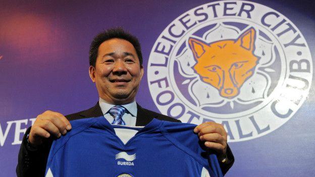 Vichai Raksriaksorn, presidente de la compañía propietaria del Leicester.