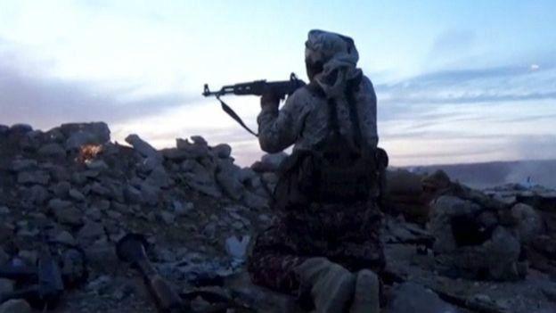 Combates en Siria contra EI