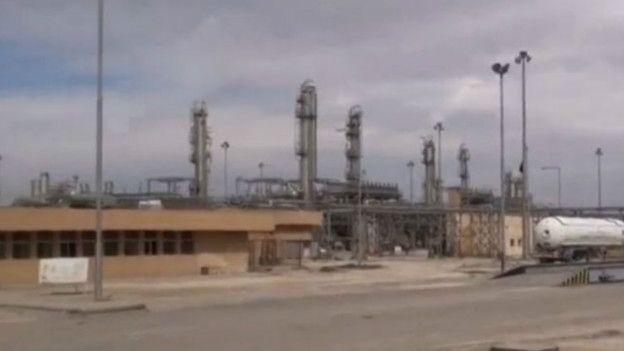 Planta de petróleo recuperada