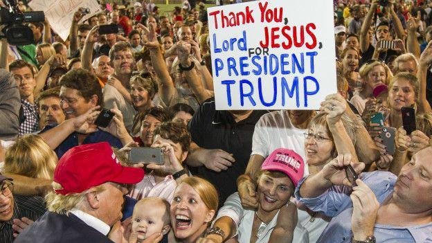 Seguidores de Trump