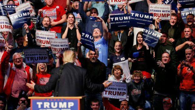 Trump en campaña
