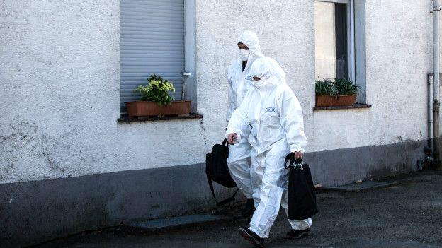Investigación forense en Alemania