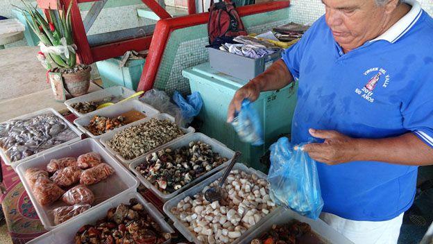 Mercado de pescado Margartia