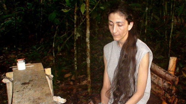 Betancourt fue secuestrada por las Farc en 2002 y liberada en 2008.
