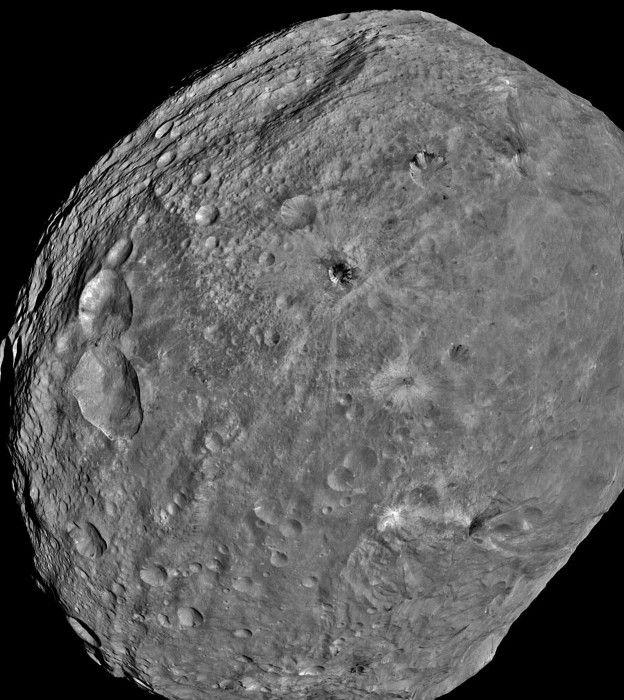 Asteroide vesta.