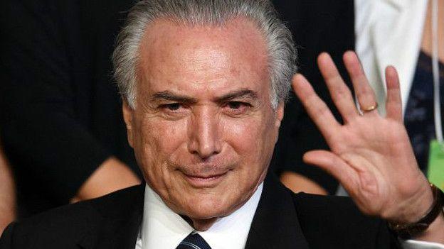 El vicepresidente de Brasil, Michel Temer