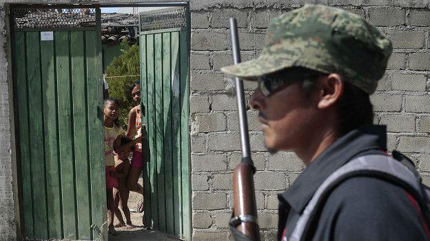 Autodefensas en el estado de Guerrero