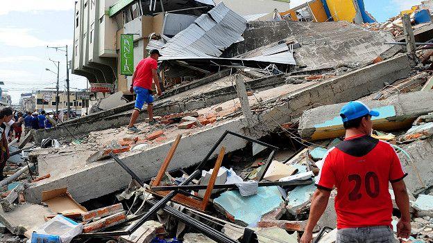 La ciudad de Manta, en la provincia de Manabí, fue una de las zonas más afectadas por el terremoto del pasado abril