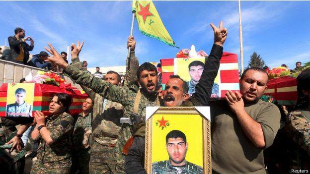 Kurdos de Siria