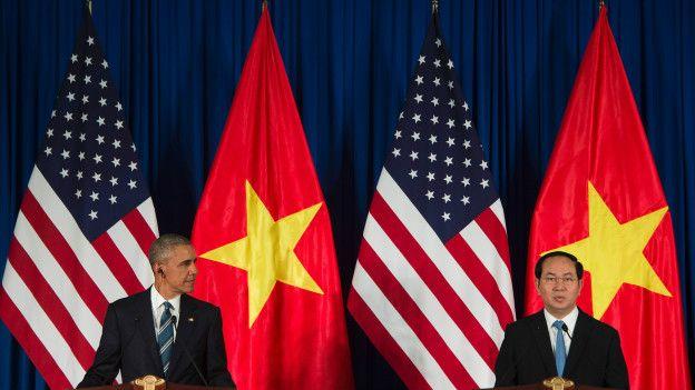 Barack Obama en Hanói