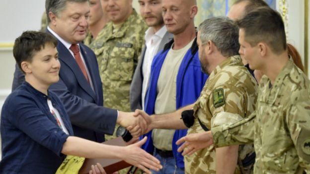 Порошенко Савченко