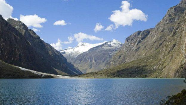 Las reservas de agua podrían no alcanzar para la población que habita cerca del Parque Nacional Huascarán, en Perú.