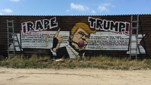 Mural contra Trump