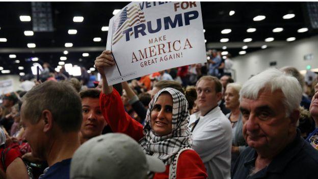 pendukung Trump