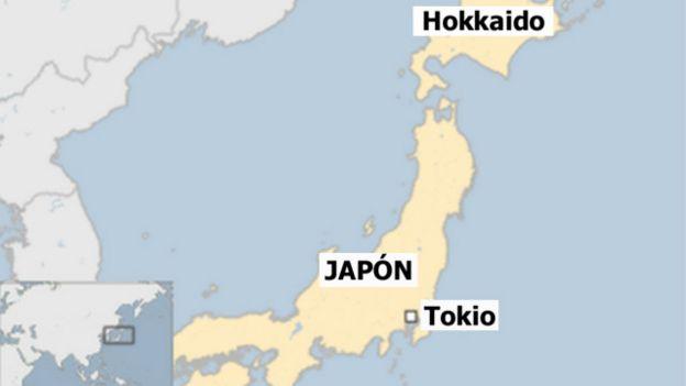 La isla de Hokkaido