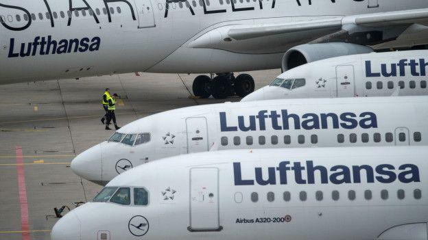 La alemana Lufthansa
