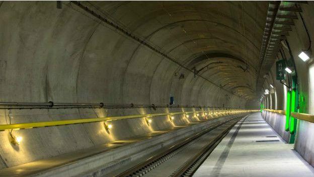Готтардский тоннель