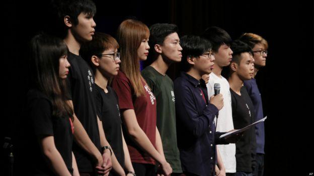 学生领袖未有出席支联会举行的六四晚会,另起炉灶举行研讨会