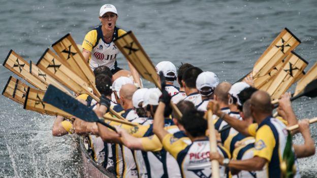 參加2014年香港國際龍舟邀請賽的外國團隊。