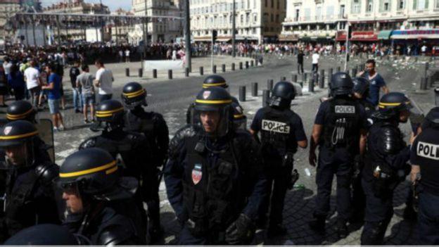 Les supporters russes étaient préparés aux troubles de Marseille, selon les autorités.