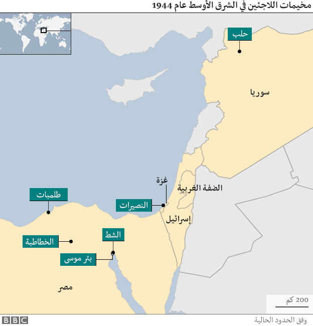 مخيمات اللاجئين اليونانيين