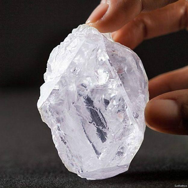 Moins de 2% des diamants sont classés IIA