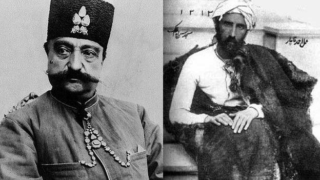 میرزا رضا کرمانی و ناصرالدین شاه قاجار