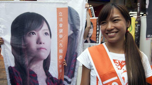 25歲的游蕙禎代表青年新政參選勝出,是受到矚目的政治新人之一。