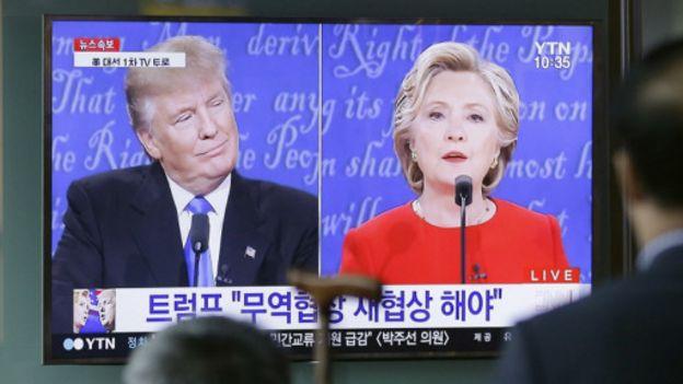 由於核試驗的因素,朝鮮問題曾成為總統競選辯論的熱點話題。