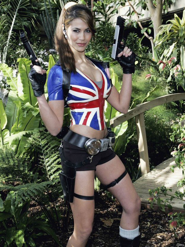 多名英國女星曾為電腦遊戲「古墓麗影」代言。