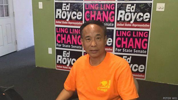 59歲的魏廣平2014年加入「橙子俱樂部」