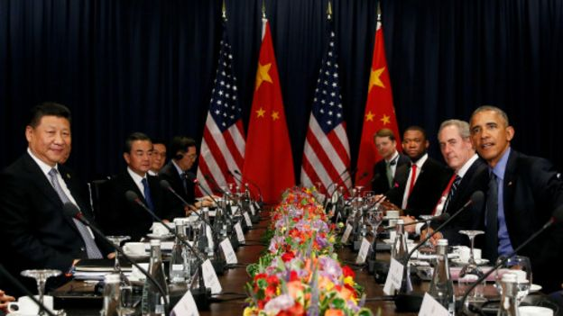 有報道指美國現任總統奧巴馬對此次對話毫不知情。奧巴馬剛於上月在秘魯APEC峰會期間會晤了中國領導人習近平。