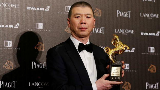 雖然范冰冰未獲女主角獎,馮小剛仍憑《我不是潘金蓮》獲頒最佳導演獎。