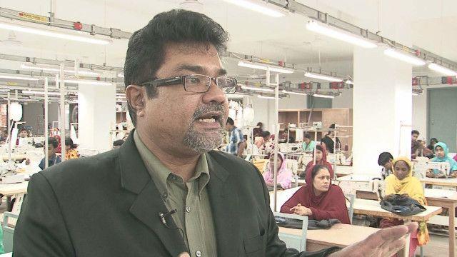 Bangladeshi garment factory owner Asif Ibrahim