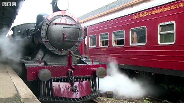 Sri Lanka steam train