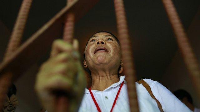 बर्मा में सियासी कैदी