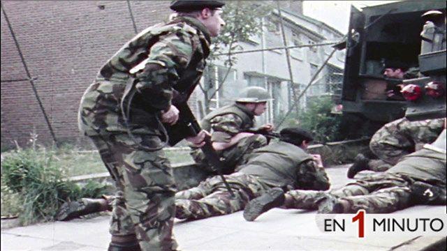 Soldados británicos en Irlanda del Norte. (Imagen de archivo).