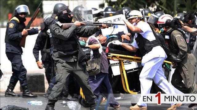 Protestas en Tailandia